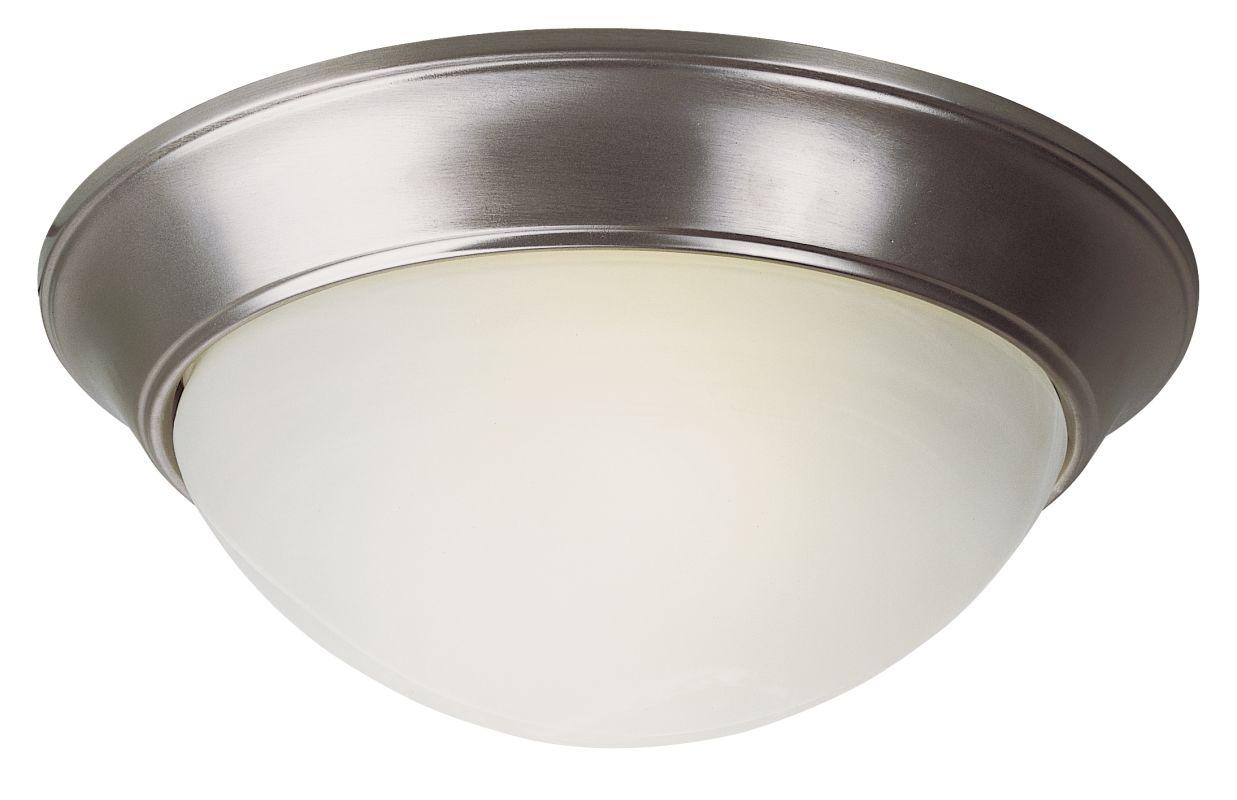 """Trans Globe Lighting PL-57702 16"""" Width 3 Light Fluorescent Flush"""
