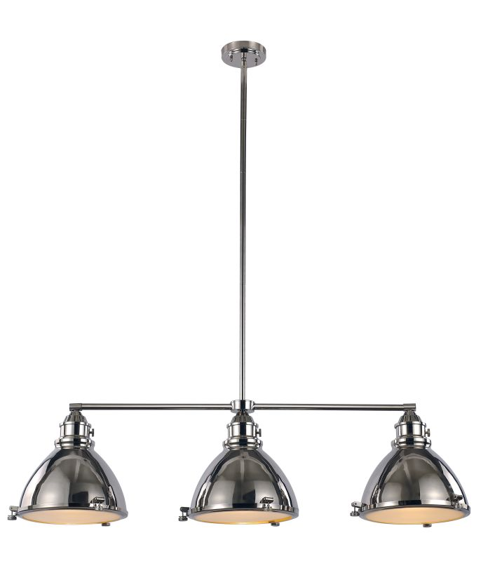 Trans Globe Lighting PND-1007 Vintage 3 Light Adjustable Linear
