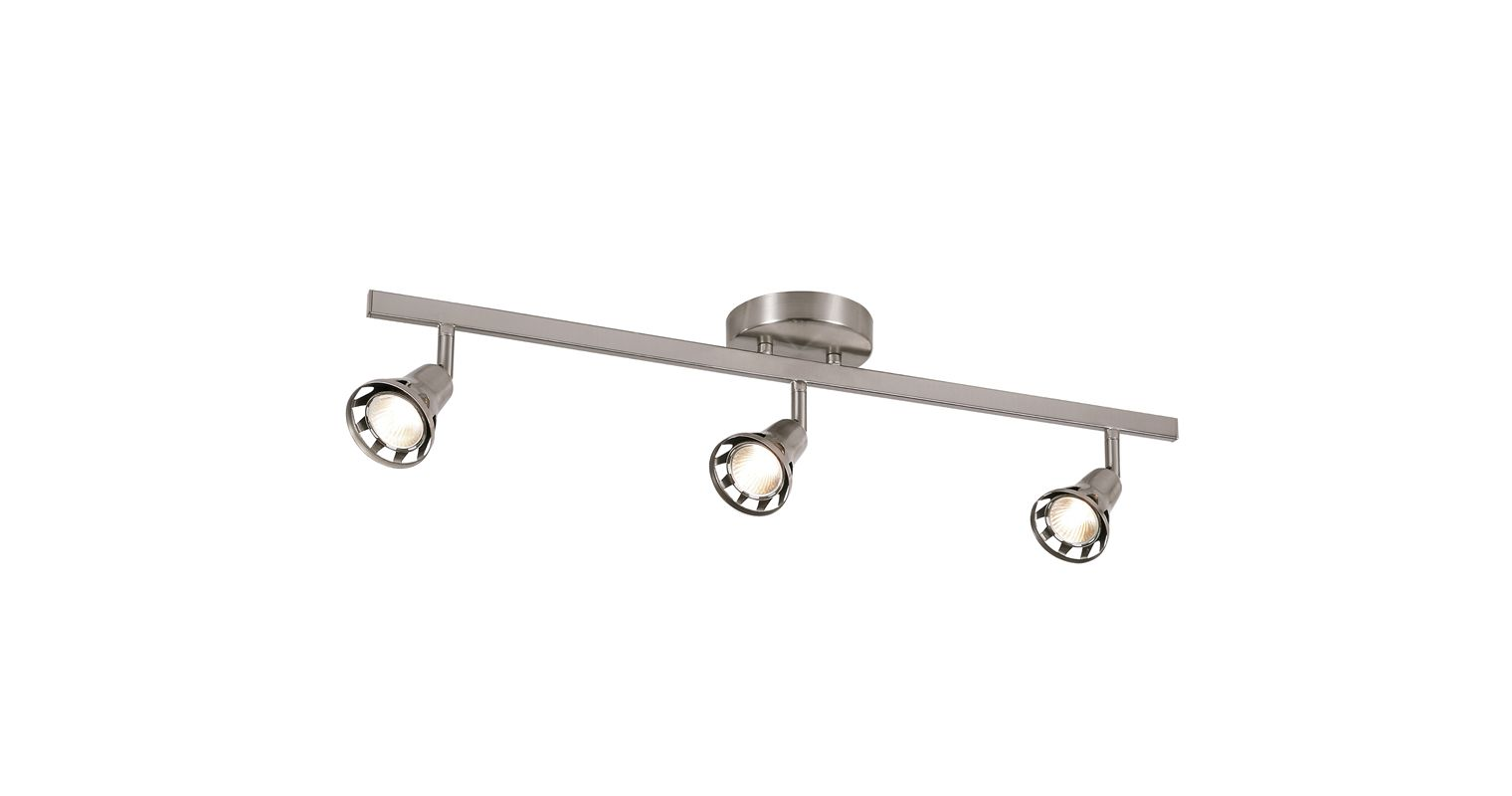Trans Globe Lighting W-493 BN Brushed Nickel Contemporary Track