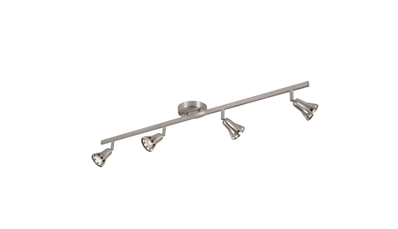 Trans Globe Lighting W-494 BN Brushed Nickel Contemporary Track