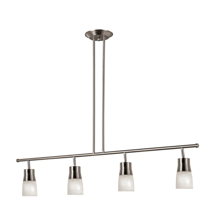 Trans Globe Lighting W-804 BN Brushed Nickel Contemporary Track