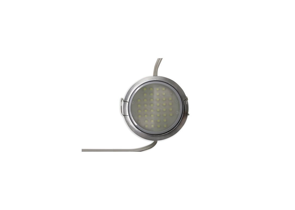 Tresco L-LPOC-3W-120L-C-1 120 Volt 3W Black 5000K LED Pockit T2