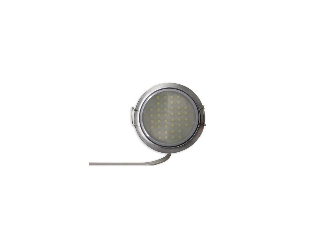 Tresco L-LPOC-3W-120NL-C-1 120 Volt 3W Black 5000K LED Pockit T2