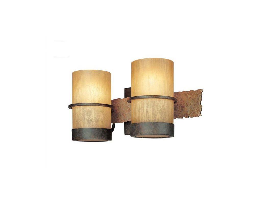 Troy Lighting B1842BB Bamboo 2 Light Bathroom Vanity Light Bamboo