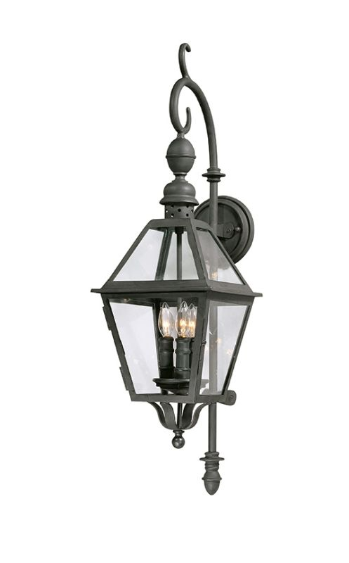 "Troy Lighting B9621 Townsend 3 Light 33"" Outdoor Wall Sconce Natural"