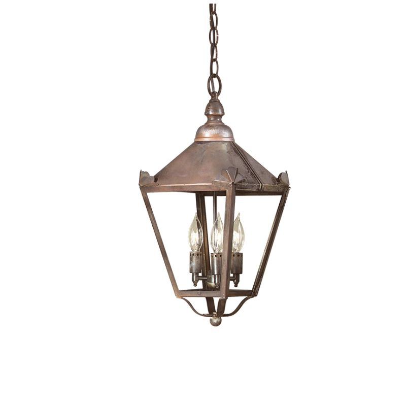 "Troy Lighting F8945 Preston 3 Light 19"" Outdoor Lantern Pendant"
