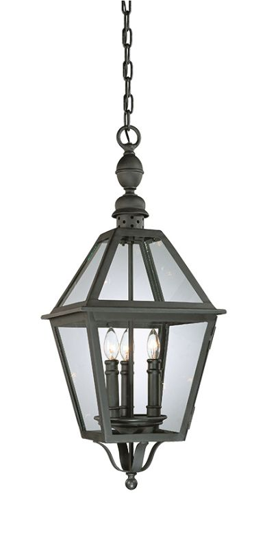 Troy Lighting F9627 Townsend 3 Light Outdoor Lantern Pendant Natural