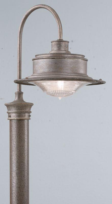 Troy Lighting P9393OG Galvanized Industrial South Street Post Light