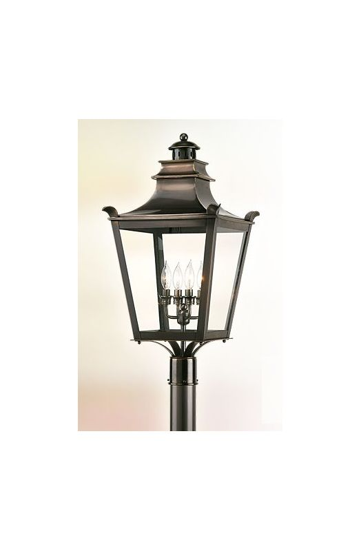 Troy Lighting P9497 Dorchester 4 Light Post Light with Clear Glass Sale $1116.00 ITEM: bci525527 ID#:P9497EB UPC: 782042534995 :