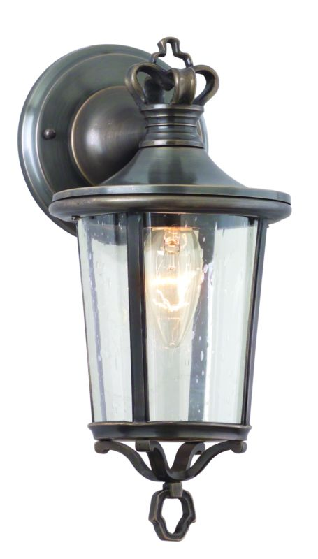 Troy Lighting B1381 Britannia 1 Light Outdoor Wall Sconce with Seedy