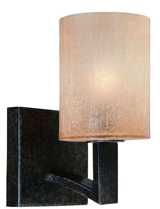 Troy Lighting B1731 Austin 1 Light Bathroom Wall Sconce Antique Bronze