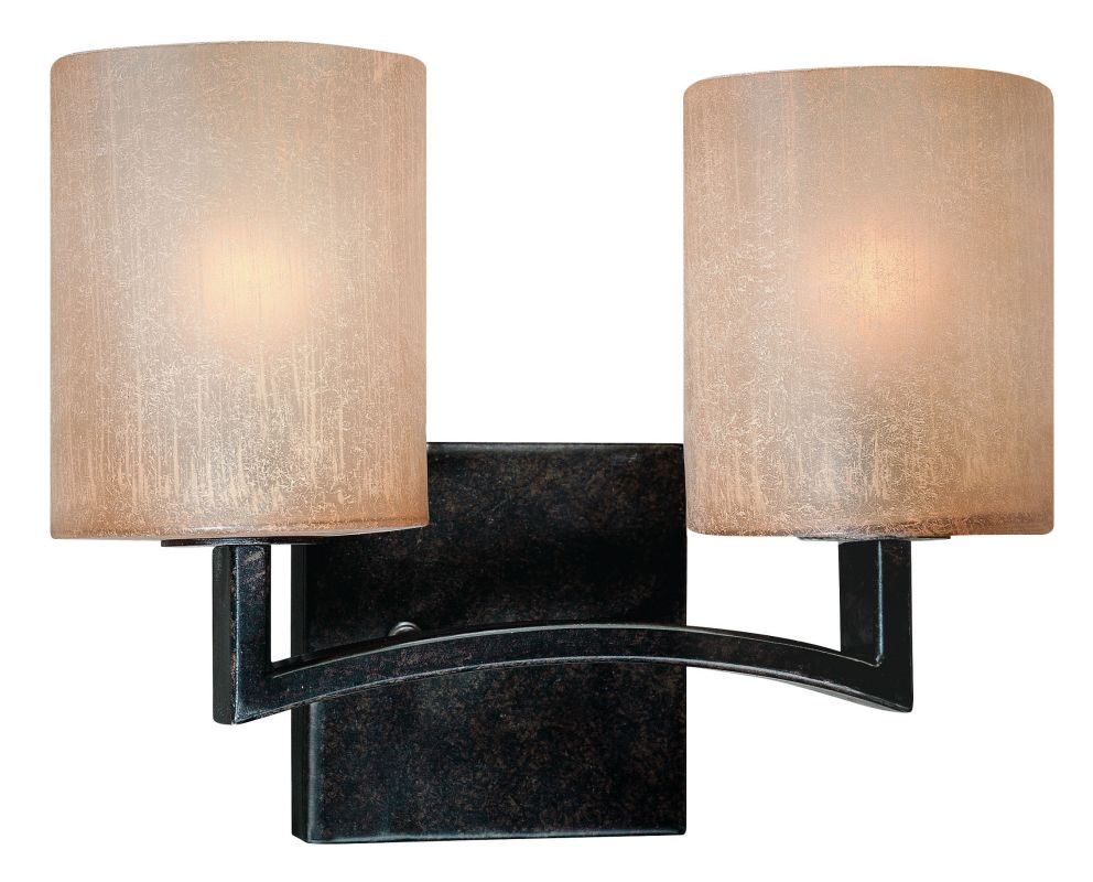 Troy Lighting B1732 Austin 2 Light Bathroom Vanity Light Antique