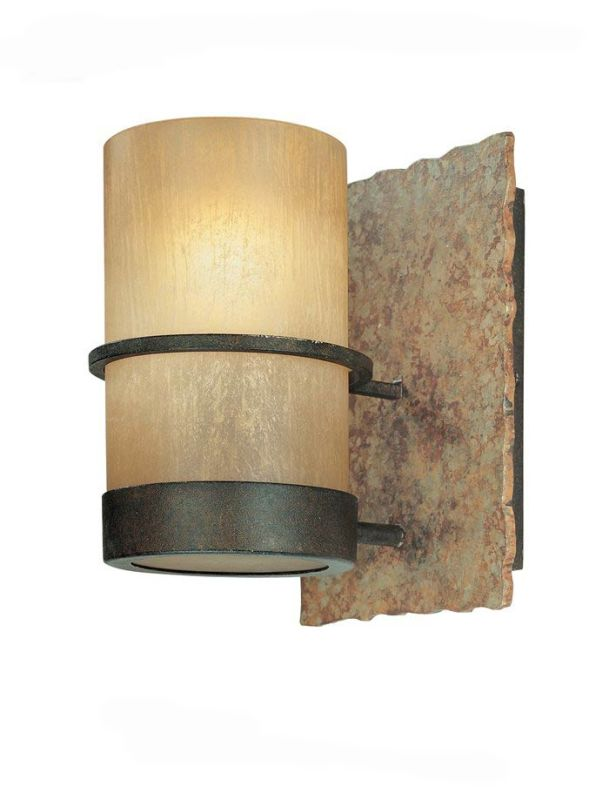 Troy Lighting B1841BB Bamboo 1 Light Bathroom Wall Sconce Bamboo