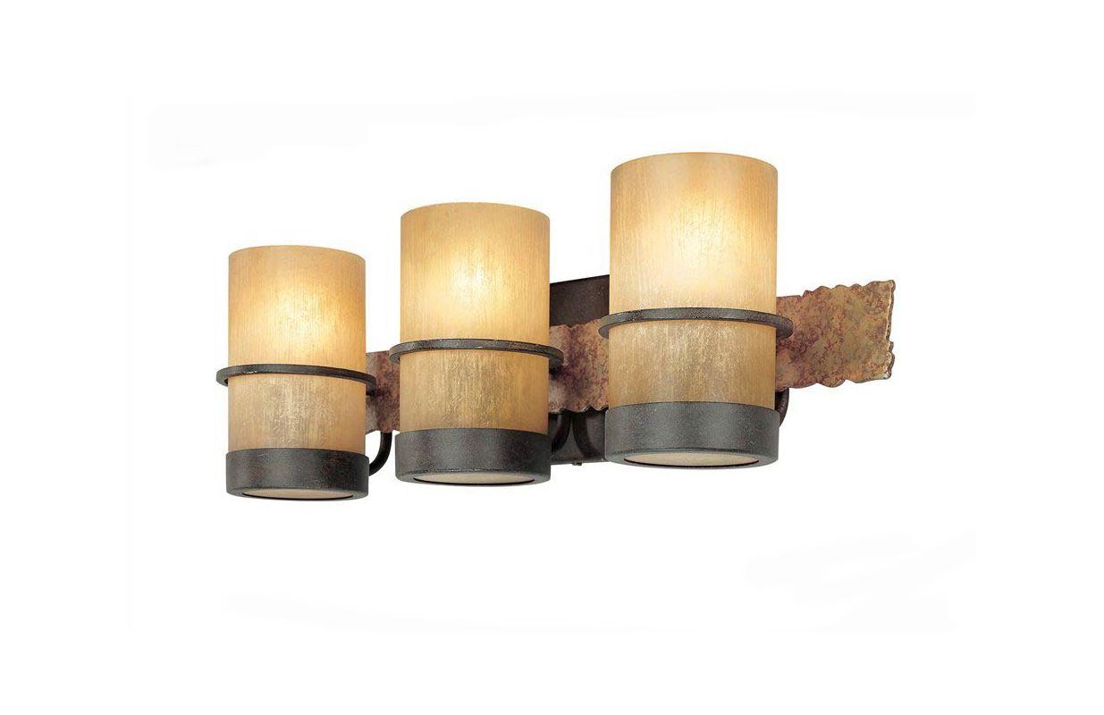 Troy Lighting B1843BB Bamboo 3 Light Bathroom Vanity Light Bamboo