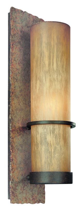 "Troy Lighting BF1852 Bamboo 1 Light 19"" CFL Energy Star Outdoor Wall"