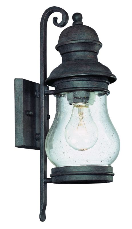 "Troy Lighting B1881 Hyannis Port 1 Light 15"" Outdoor Wall Sconce with"
