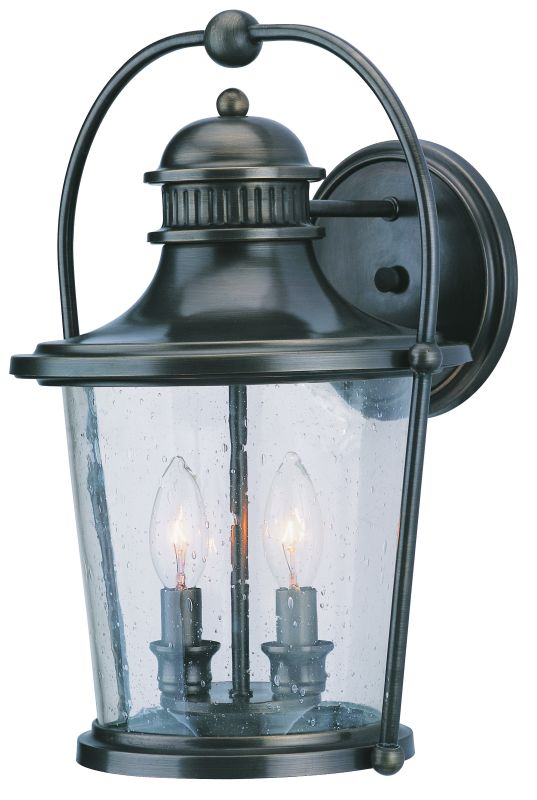 Troy Lighting B2032 Guild Hall 2 Light Outdoor Wall Sconce with Seedy