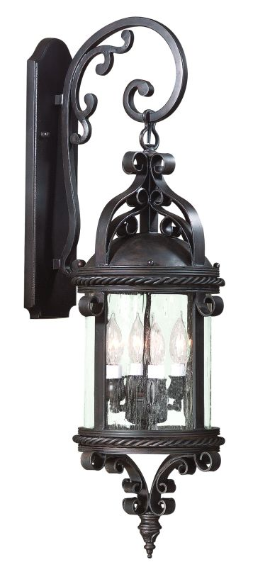 Troy Lighting BF9122 Pamplona 1 Light CFL Outdoor Wall Sconce Old
