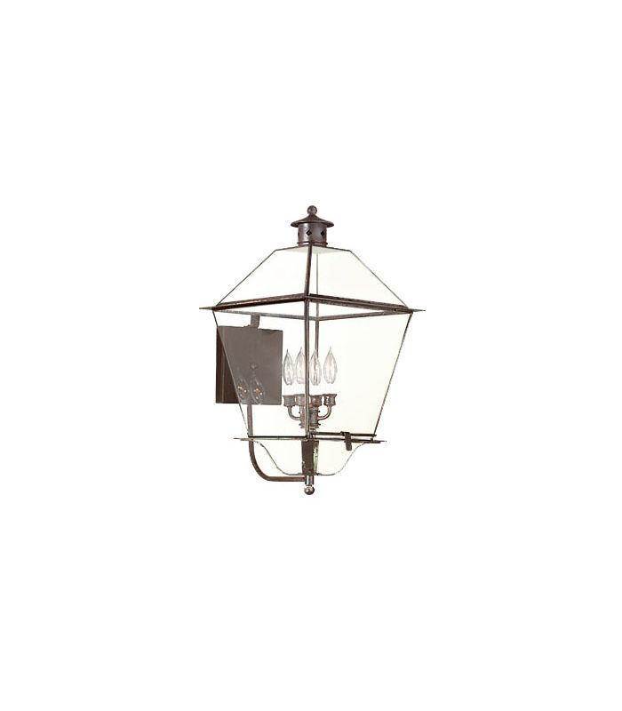 """Troy Lighting B8960 Montgomery 4 Light 26"""" Outdoor Wall Sconce Natural"""