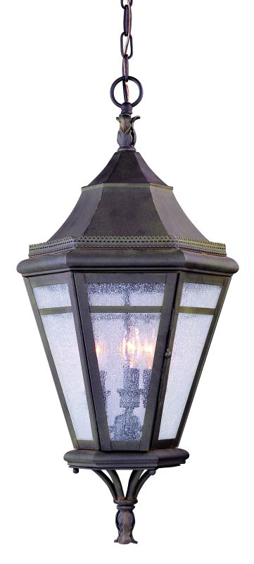 Troy Lighting F1276 Morgan Hill 3 Light Outdoor Lantern Pendant with
