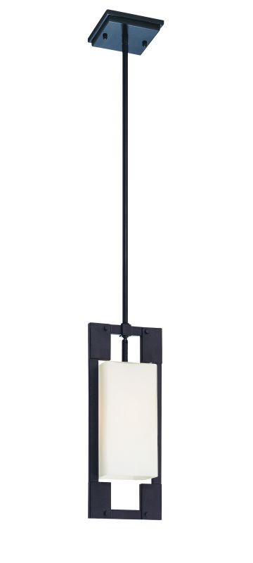 Troy Lighting FF4018FI Forged Iron Contemporary Blade Pendant
