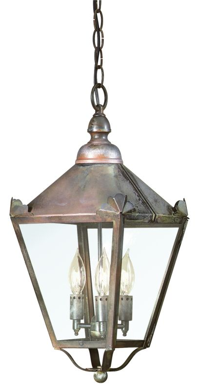 "Troy Lighting FCD8945 Preston 3 Light 19"" Outdoor Lantern Pendant with"