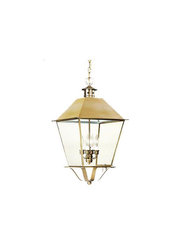 "Troy Lighting F9142 Montgomery 4 Light 24"" Outdoor Lantern Pendant"
