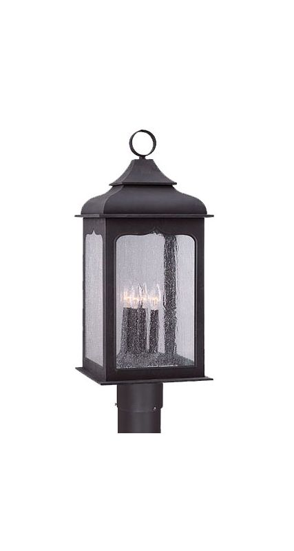 Troy Lighting P2016 Henry Street 4 Light Energy Star Rated Post Light