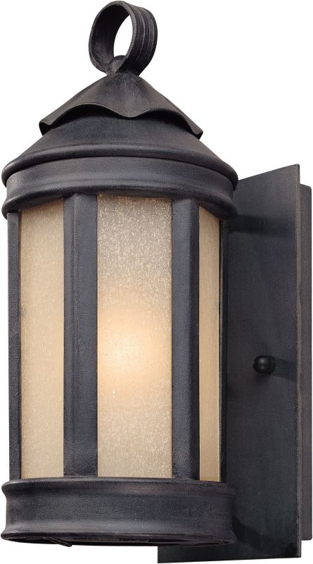 "Troy Lighting B1460 Andersons Forge 1 Light 12"" Outdoor Wall Sconce"