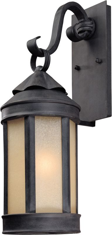 "Troy Lighting B1462 Andersons Forge 1 Light 21"" Outdoor Wall Sconce"