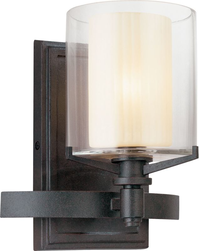 Troy Lighting B1711FR French Iron Contemporary Arcadia Bathroom Light