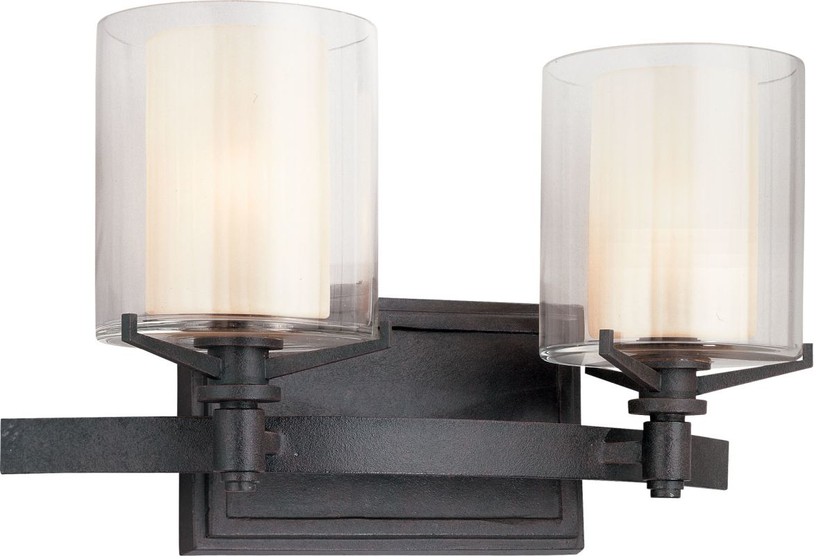Troy Lighting B1712FR French Iron Contemporary Arcadia Bathroom Light