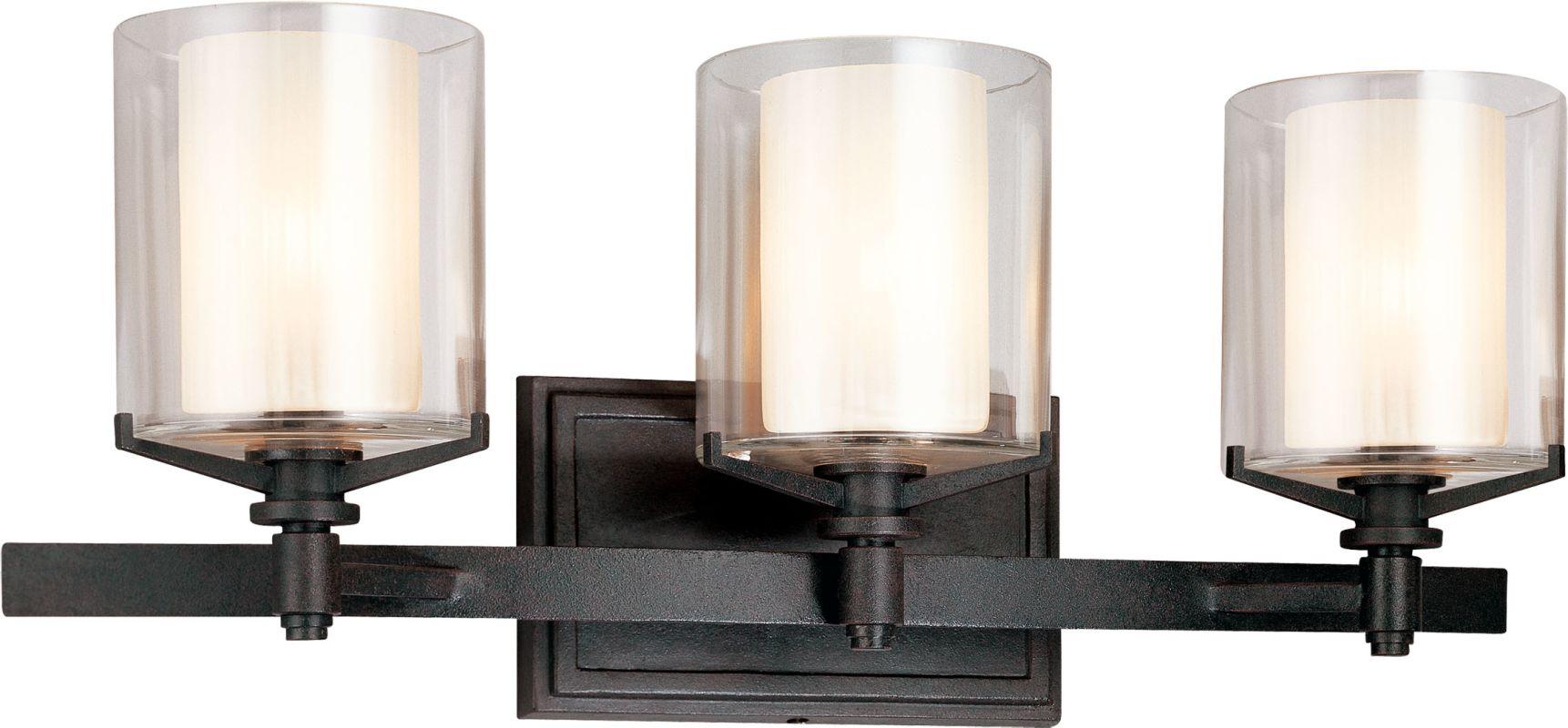 Troy Lighting B1713FR French Iron Contemporary Arcadia Bathroom Light