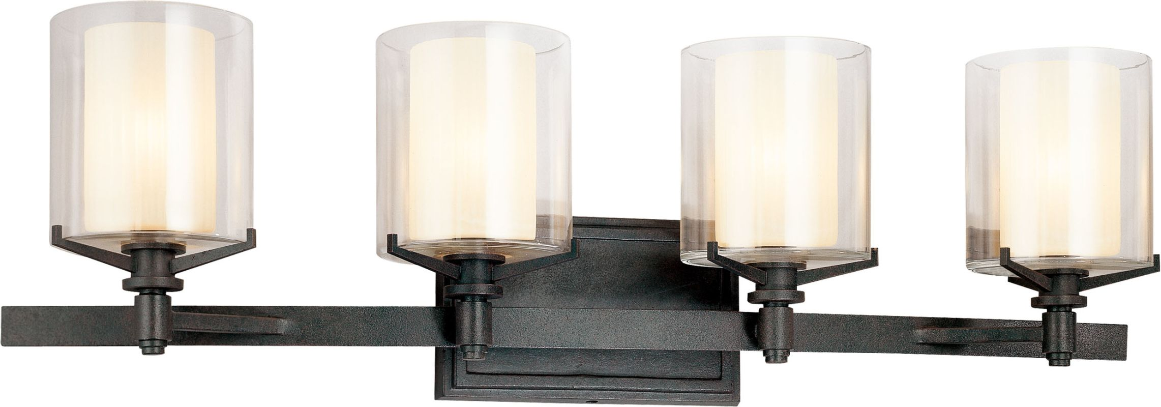 Troy Lighting B1714FR French Iron Contemporary Arcadia Bathroom Light