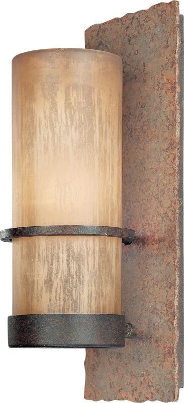 "Troy Lighting B1851BB Bamboo 1 Light 14"" Outdoor Wall Sconce with"