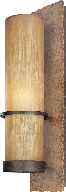 "Troy Lighting B1852BB Bamboo 1 Light 19"" Outdoor Wall Sconce with"