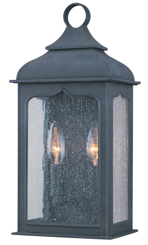 "Troy Lighting B2010 Henry Street 2 Light 15"" Outdoor Wall Sconce"