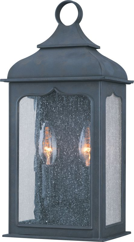 "Troy Lighting B2011 Henry Street 2 Light 19"" Outdoor Wall Sconce"