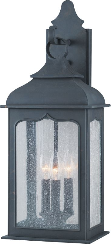 Troy Lighting B2012 Henry Street 3 Light Outdoor Wall Sconce Colonial