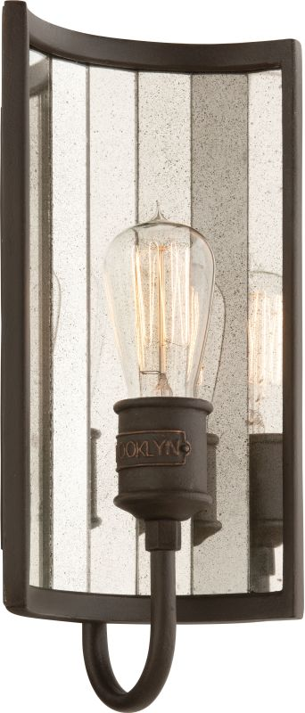 Troy Lighting B3141 Brooklyn Bronze Industrial Brooklyn Wall Sconce Sale $388.00 ITEM: bci2065301 ID#:B3141 UPC: 782042791541 :
