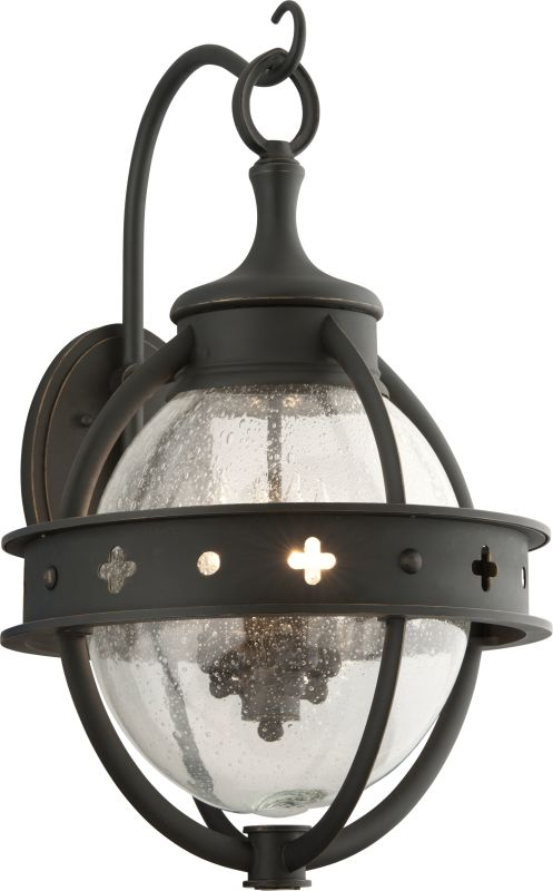 Troy Lighting B3683 Mendocino 4 Light Outdoor Wall Sconce with Seedy