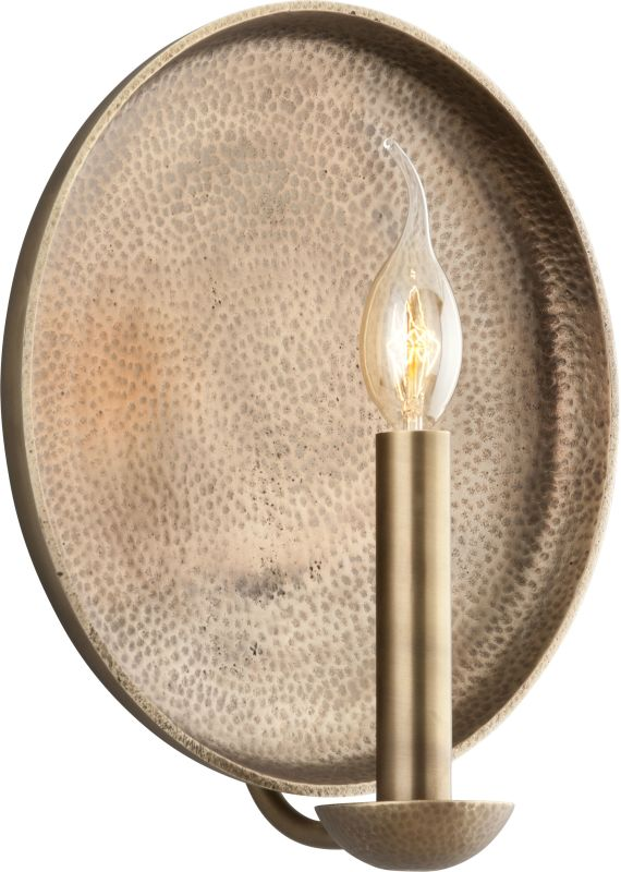 Troy Lighting B3702 Taj 1 Light Candle-Style Wall Sconce Antique Brass Sale $104.62 ITEM: bci2274601 ID#:B3702 UPC: 782042814363 :