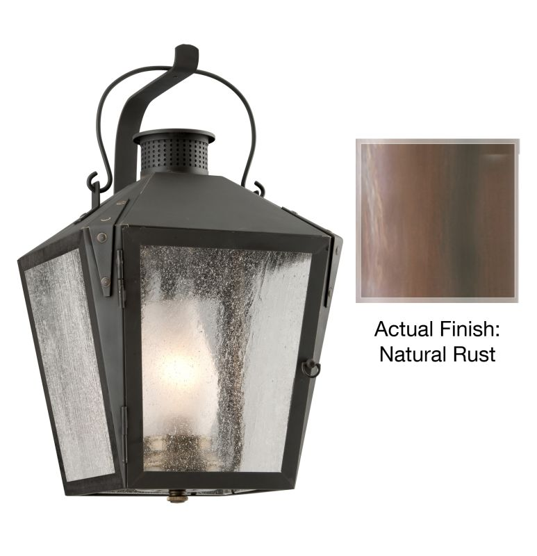 """Troy Lighting B3762 Nantucket 1 Light 18"""" Outdoor Wall Sconce with"""