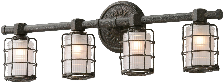 Troy Lighting B3844 Bronze Industrial Mercantile Bathroom Light