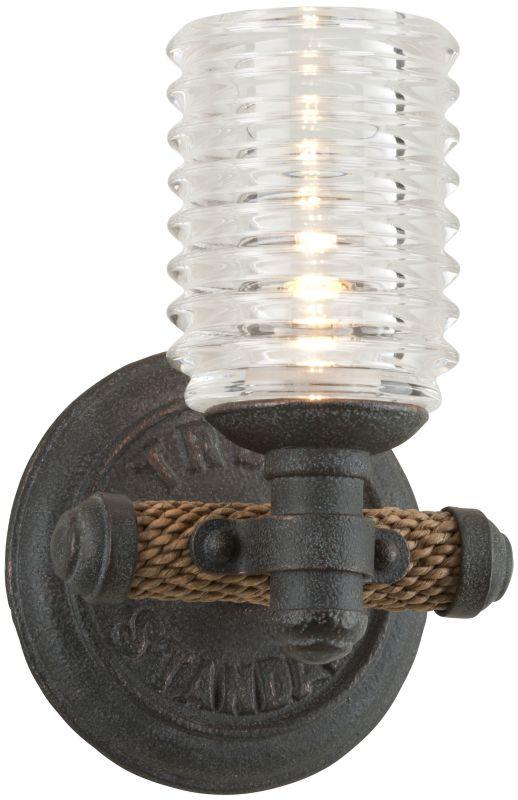 Troy Lighting B4151 Bronze Industrial Embarcadero Bathroom Light Sale $192.00 ITEM: bci2433223 ID#:B4151 UPC: 782042844780 :