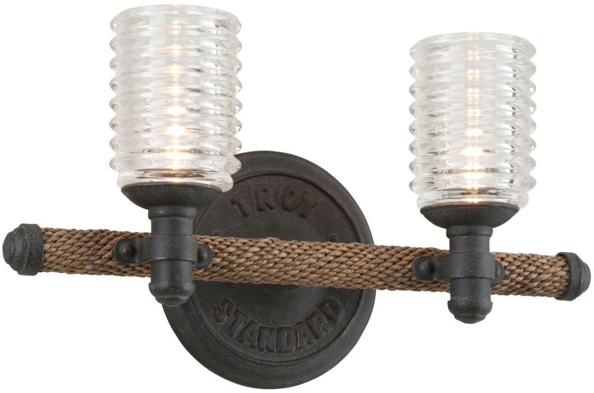 Troy Lighting B4152 Bronze Industrial Embarcadero Bathroom Light