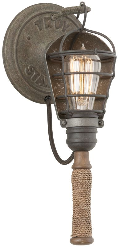Troy Lighting B4171 Rusty Galvanized Industrial Yardhouse Wall Sconce Sale $118.47 ITEM: bci2433269 ID#:B4171 UPC: 782042844827 :