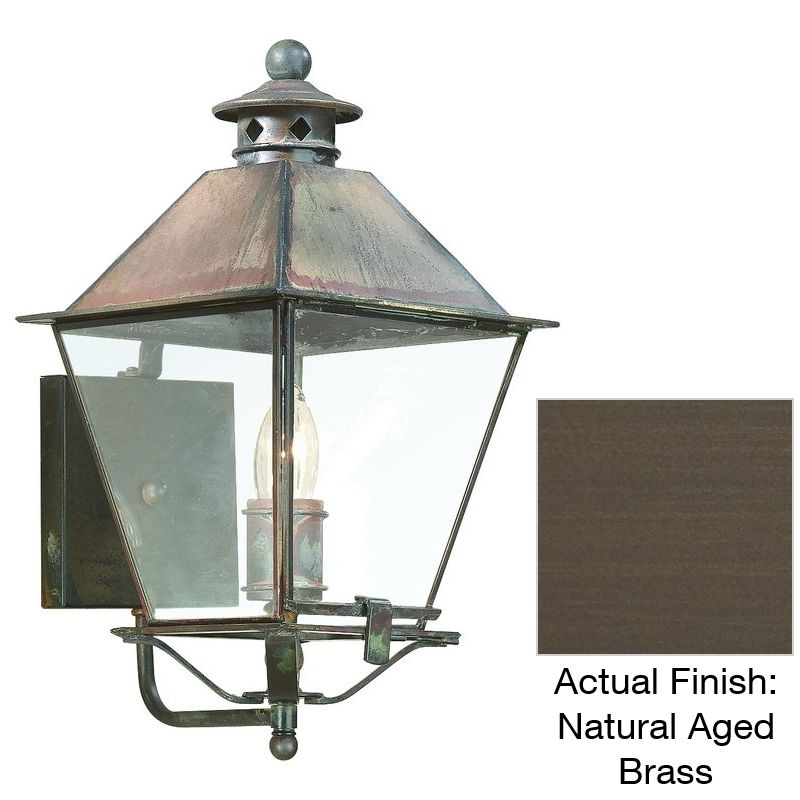 "Troy Lighting B9130 Montgomery 1 Light 14"" Outdoor Wall Sconce Natural"
