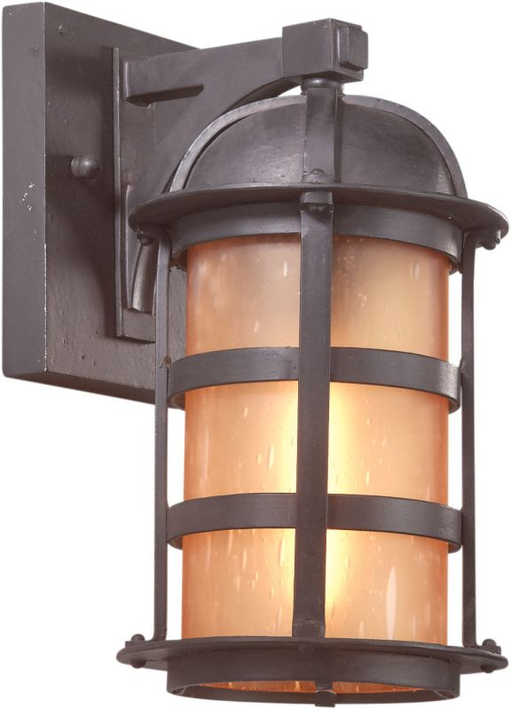 "Troy Lighting B9250 Aspen 1 Light 11"" Outdoor Wall Sconce with Seedy"