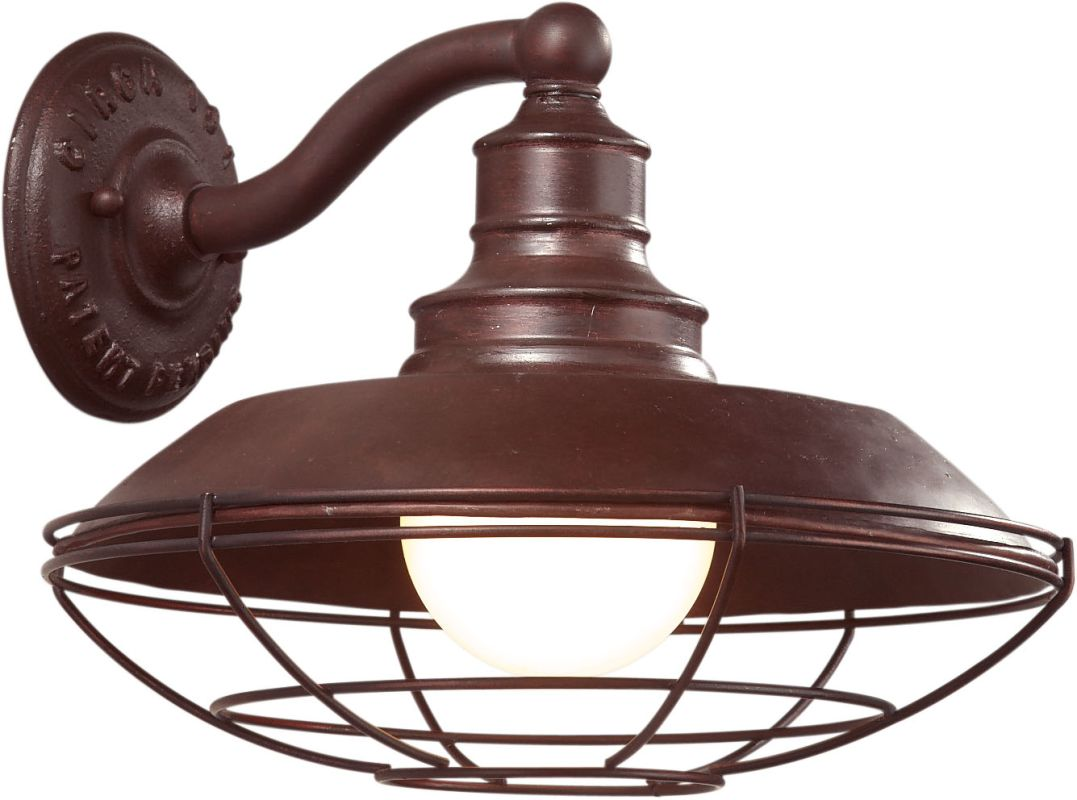 Troy Lighting B9271or Old Rust Circa 1910 1 Light 10 Outdoor Wall Sconce